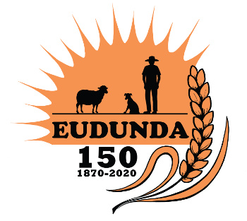 Eudunda 150th logo by Jed Dunstan