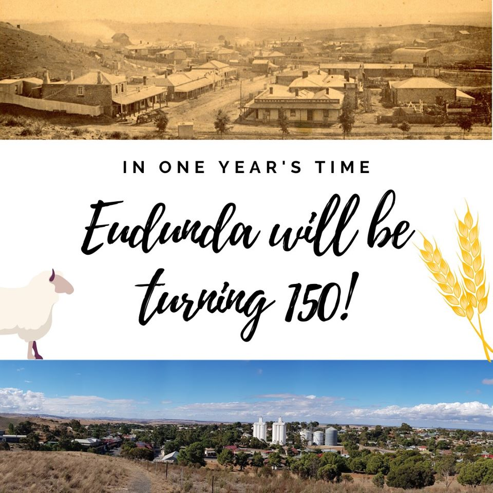 Eudunda Will Be Turning 150 in a Years Time