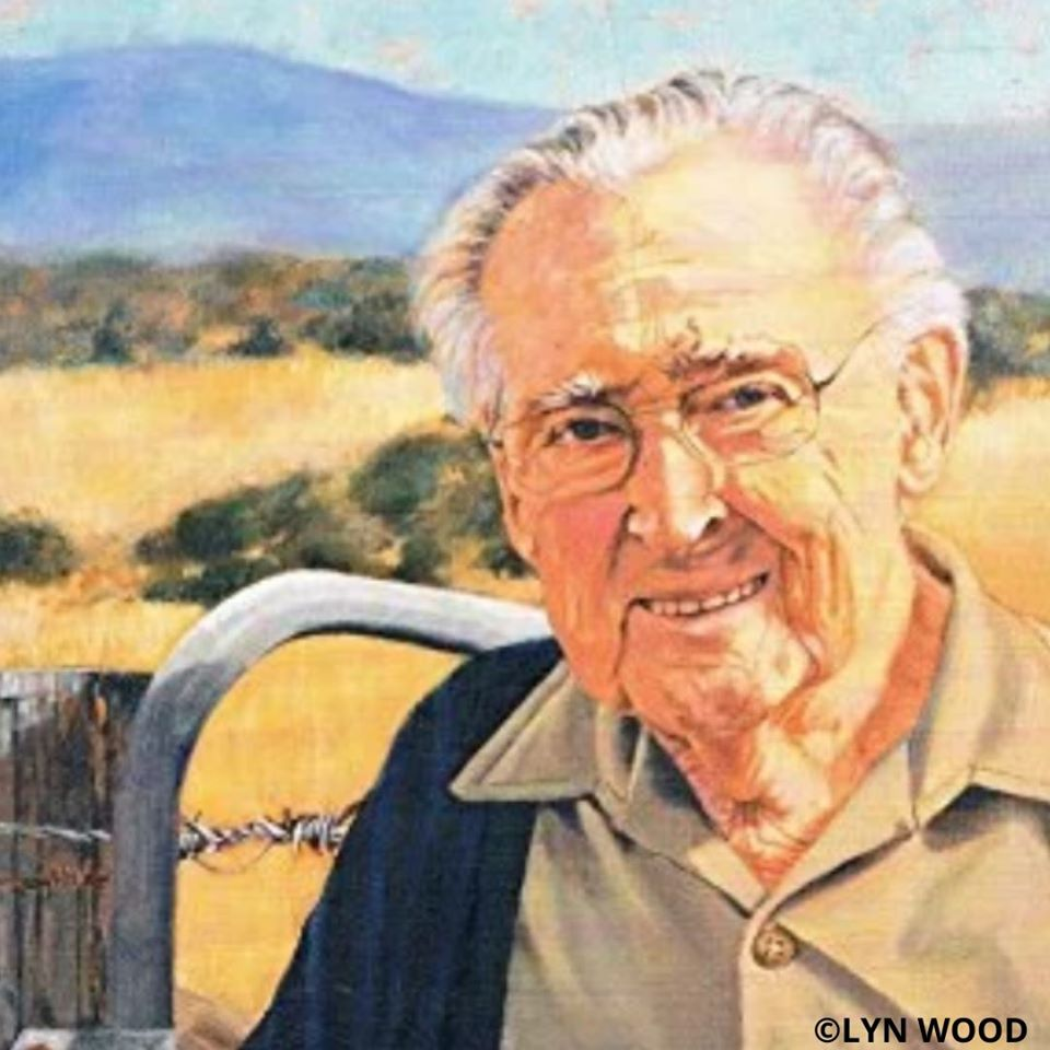 Happy 99th Birthday Colin Thiele - 16th Nov 2019 - Image by Lyn Wood is from the book - Can I Call You Colin by Stephany Evans Steggal